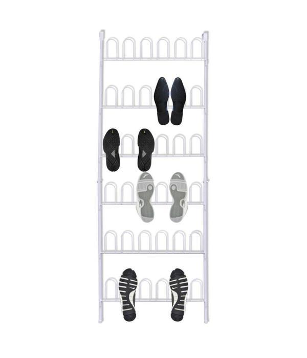 vidaXL Schoenenrek voor aan de deur 18 paar schoenen