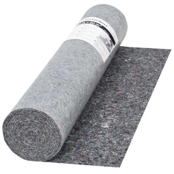 Schildersvlies anti-slip 50 m 280 g/m² grijs