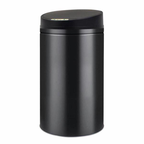 Prullenbak met automatische sensor 42 L zwart