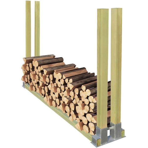 Haardhoutrek hout 2000x340x1250 mm