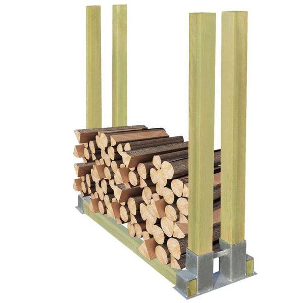 Haardhoutrek hout 1000x340x1000 mm