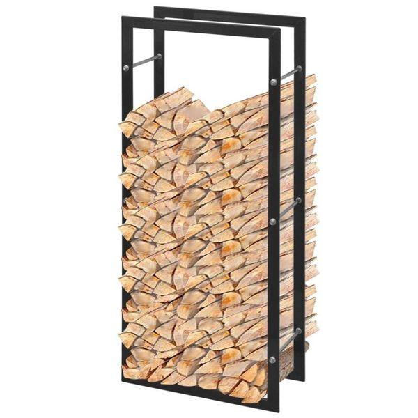 Brandhoutrek rechthoekig 100 cm