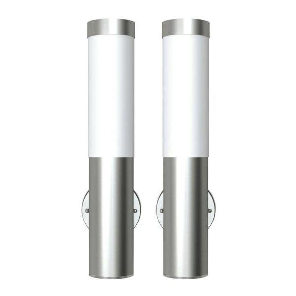 Buitenlamp RVS Savona (2 stuks)