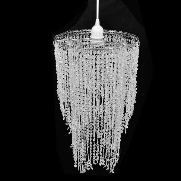 Kroonluchter met kristallen 26,5 x 50 cm