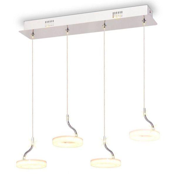 LED-hanglamp met 4 lampen warm wit