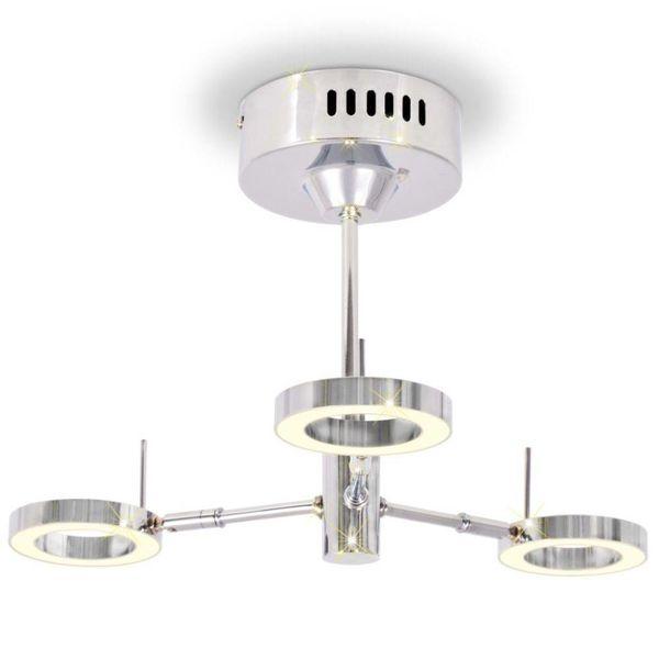 LED-plafondlamp met 3 lampen warm wit