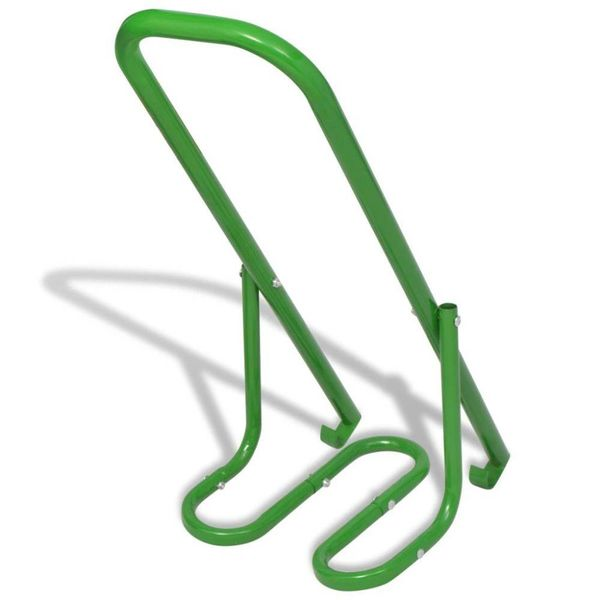 Handmatige afval compactor staal groen