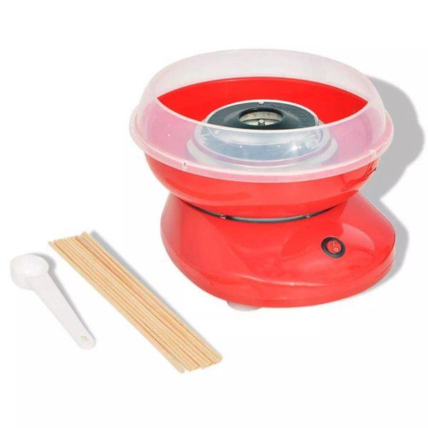 Suikerspinmachine 480 W rood