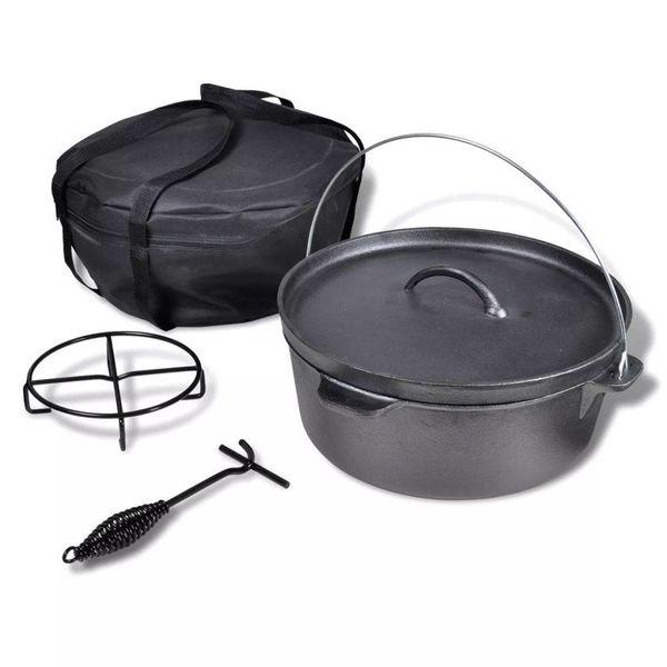 Braadpan 11,3 L inclusief accessoires