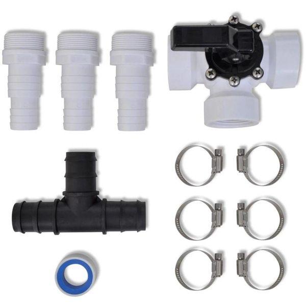Bypass kit voor zonnecollectoren zwembad