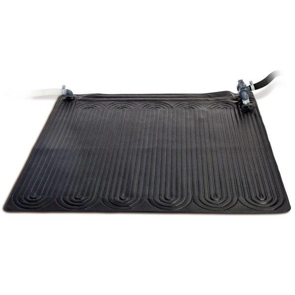 Verwarmingsmat op zonne-energie PVC 1,2X1,2m Zwart 28685