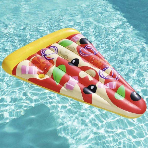 Luchtbed opblaasbaar Pizza Party 188x130 cm