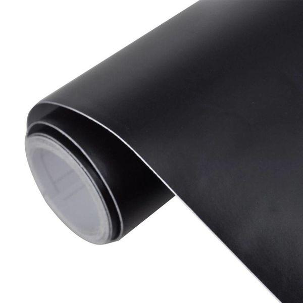 Auto wrapping folie mat zwart 200 x 152 cm