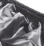 vidaXL Motorhoes polyester grijs 246x105x127 cm