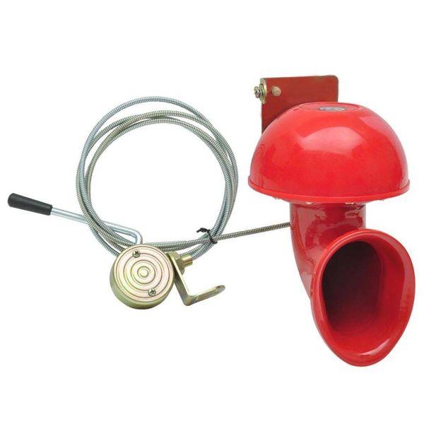 Bullhorn Claxon 12V/24V 1-tonig 115 dB