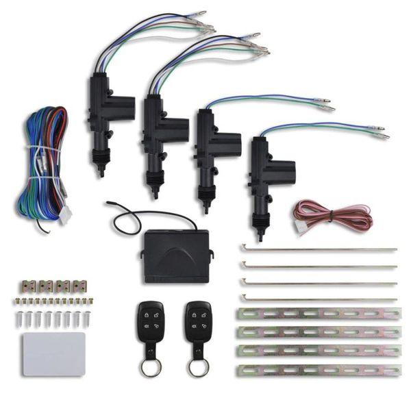 Centrale deurvergrendeling set + 2 afstandsbedieningen