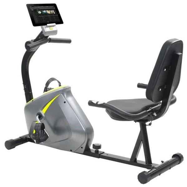 Ligfiets hometrainer 5 kg roterende massa