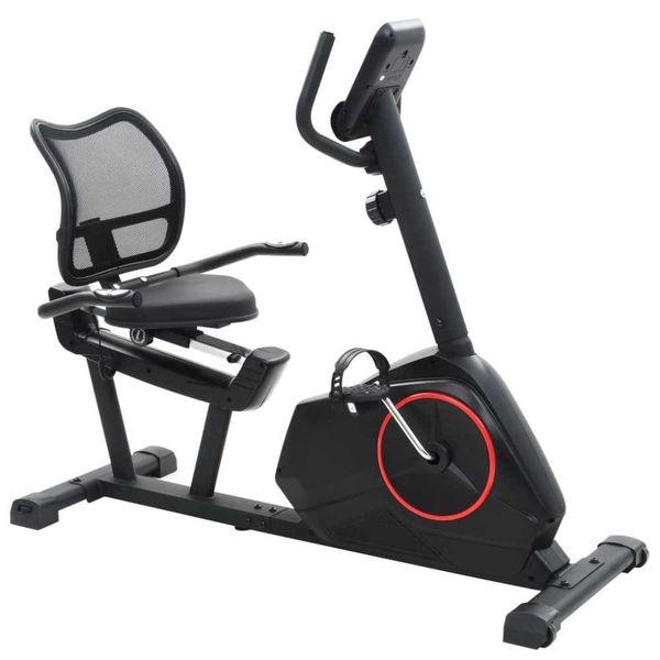 Ligfiets hometrainer 10 kg roterende massa