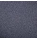 vidaXL Voetenbank 73x43x42 cm stoffen bekleding donkergrijs