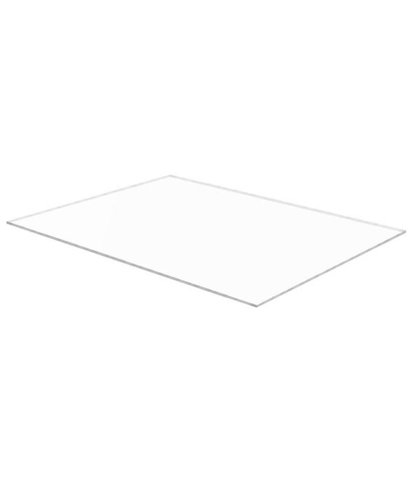 vidaXL Acrylplaten 600x800x6 mm transparant 5 st