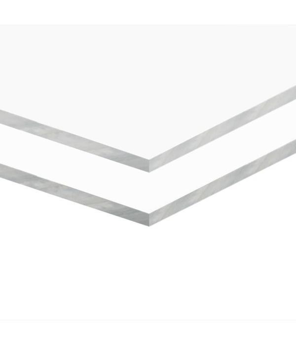 vidaXL Acrylplaten 600x800x5 mm transparant 2 st