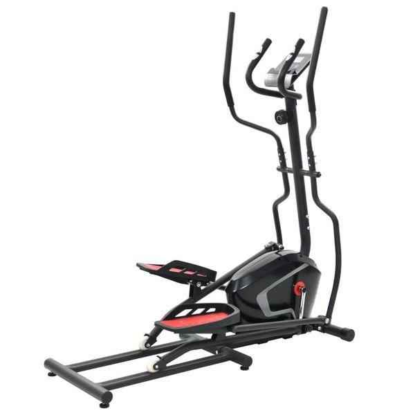 Crosstrainer XL 18 kg roterende massa met hartslagmeter