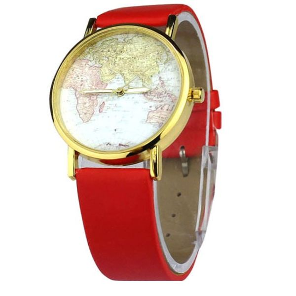Horloge Retro world