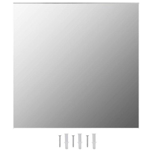 Wandspiegel vierkant 60x60 cm glas - Retourdeal
