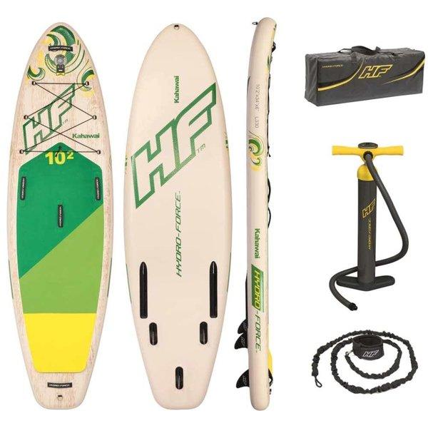 Paddle boardset opblaasbaar Hydro-Force Kahawai 65308