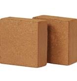 vidaXL Kokosvezelblokken 5 kg 30x30x10 cm 2 st