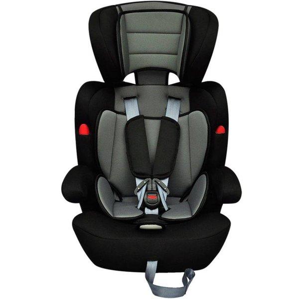 Autostoeltje voor kinderen grijs/zwart