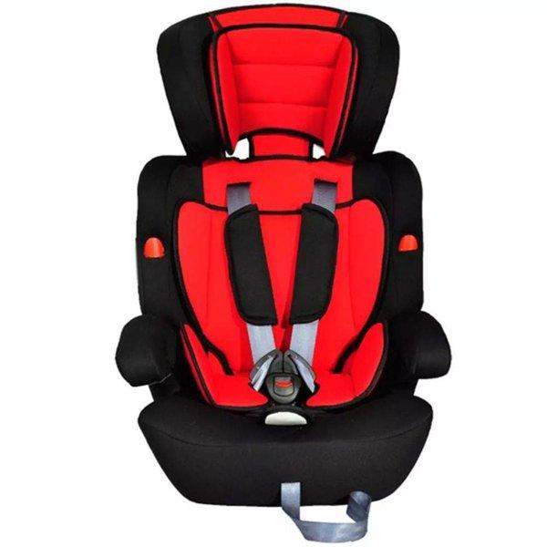 Autostoeltje voor kinderen rood/zwart