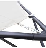vidaXL Vlinderprieel 3x3 m beige