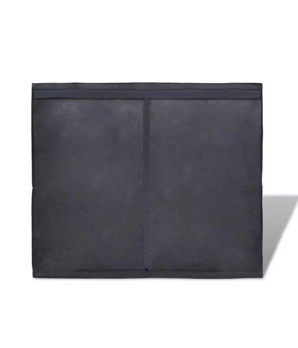 vidaXL Kweektent kast met ritssluiting 120 x 240 x 200 cm