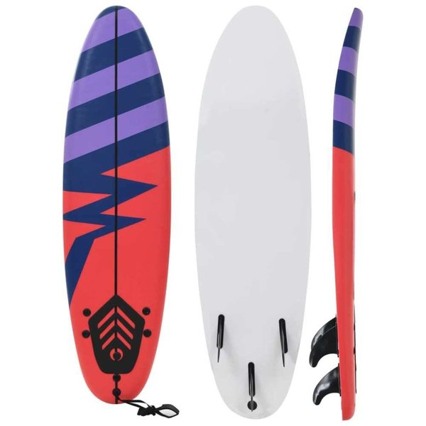 Surfboard 170 cm streep