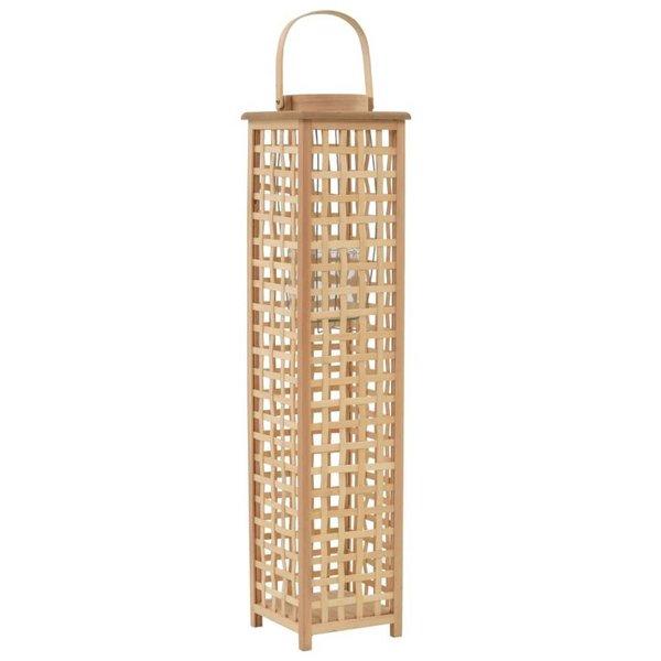 Lantaarnhouder hangend bamboe natuurlijk