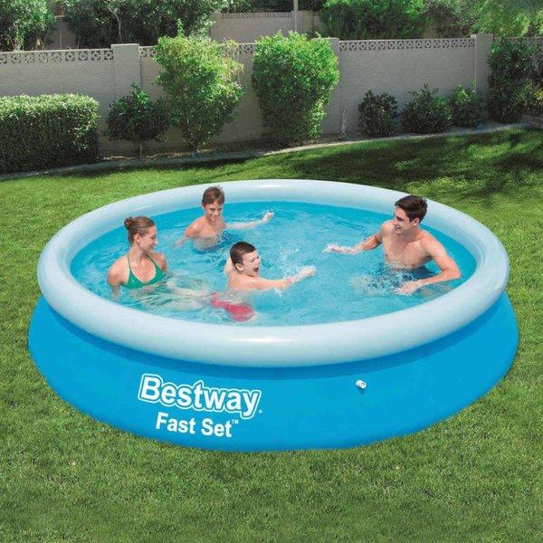 Fast Set Zwembad opblaasbaar rond 366x76 cm 57273