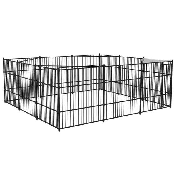 Hondenkennel voor buiten 500x500 cm