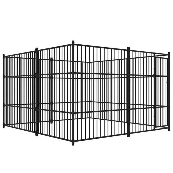 Hondenkennel voor buiten 300x300 cm
