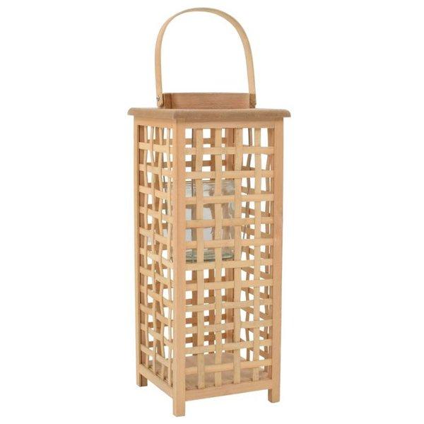 Lantaarnhouder hangend bamboe naturel