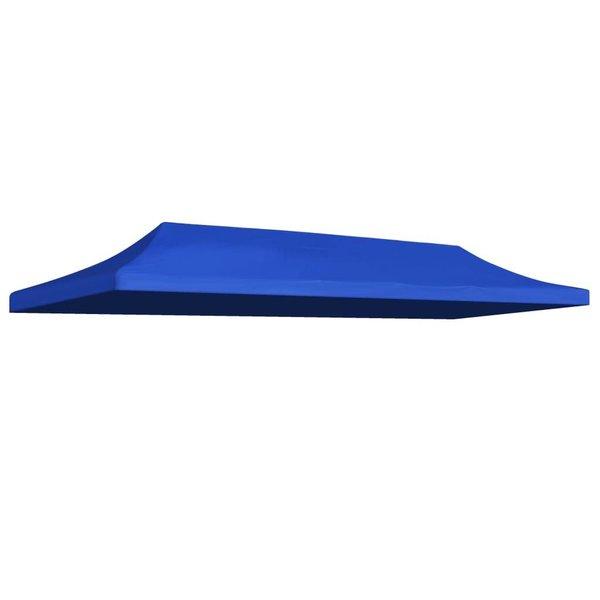 Partytentdak 3x6 m blauw