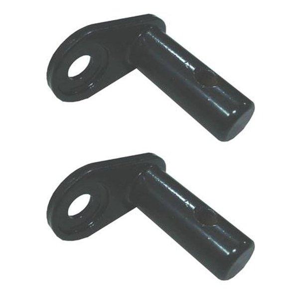 Fietskoppeling voor aanhangwagen ijzer 2 st