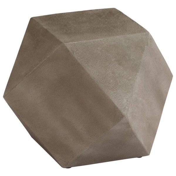 Bijzettafel 40x40x40 cm beton