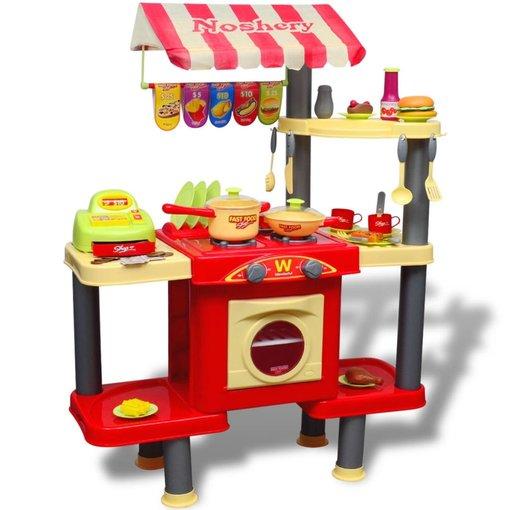 vidaXL Grote speelkeuken voor kinderen