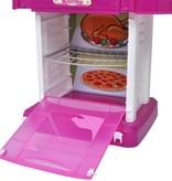 vidaXL Kinderspeelkeuken met licht- en geluidseffecten roze
