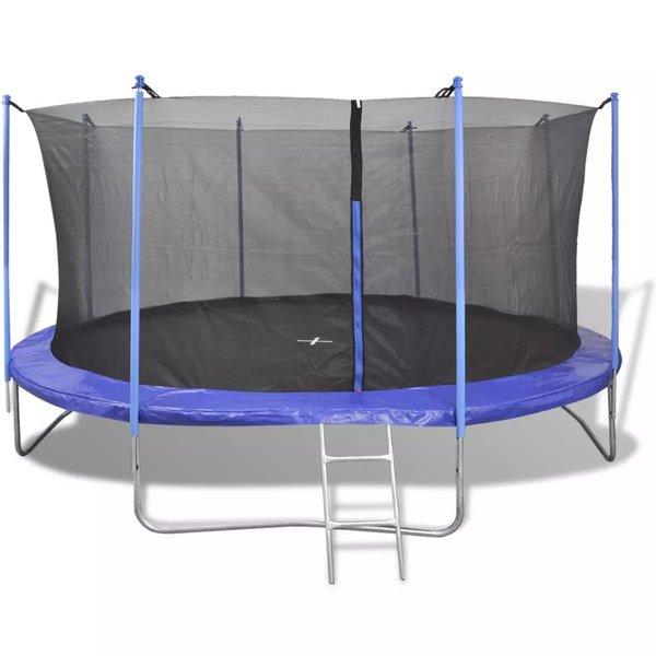 Trampoline set 4,57 m 5-dlg