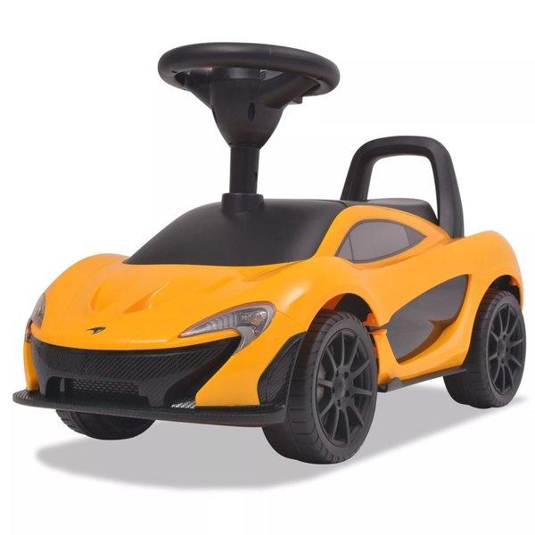 Loopauto McLaren P1 geel