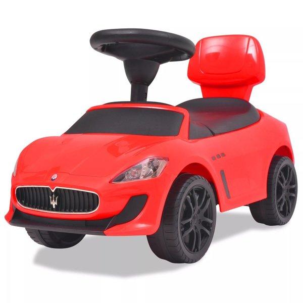 Loopauto Maserati 353 rood