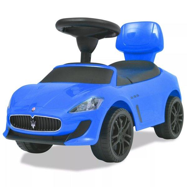 Loopauto Maserati 353 blauw