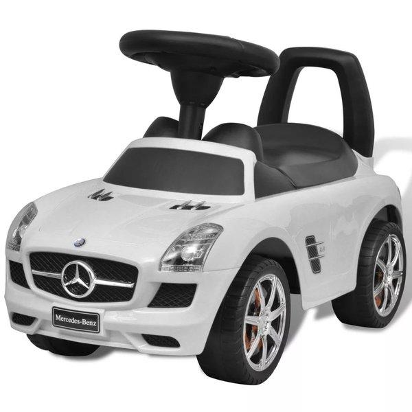 Loopauto Mercedes Benz wit